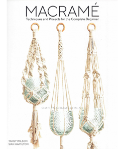 Macrame Techniques and Projects for the Complete Beginner Front Cover Shop Image