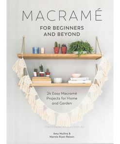 Macrame For Beginners and Beyond Front Cover Shop Icon