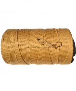 Australian Natural Cotton Cord Light Brown 3mm 1KG