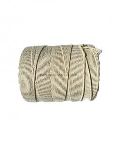 Australian Natural Cotton Cord Natural Colour 3mm 2KG