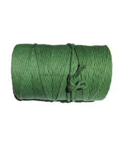 Natural-Cotton-Cord-4mm-Green