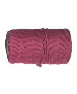 Australian-Natural-Cotton-Cord-Maroon