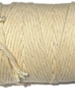 Australian Natural Cotton Cord 5mm