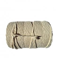 Australian Natural Cotton Cord Natural Colour 5mm 2KG