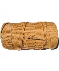 Australian Natural Cotton Rope Light Brown 4.5mm 1KG