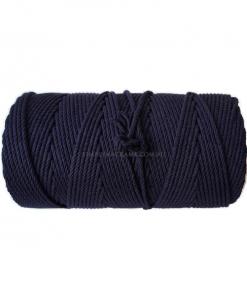 Australian Natural Cotton Rope - Navy Colour - 4.5mm 1KG
